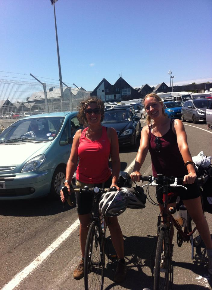Kate and I toured Brittany on our bikes in 2014